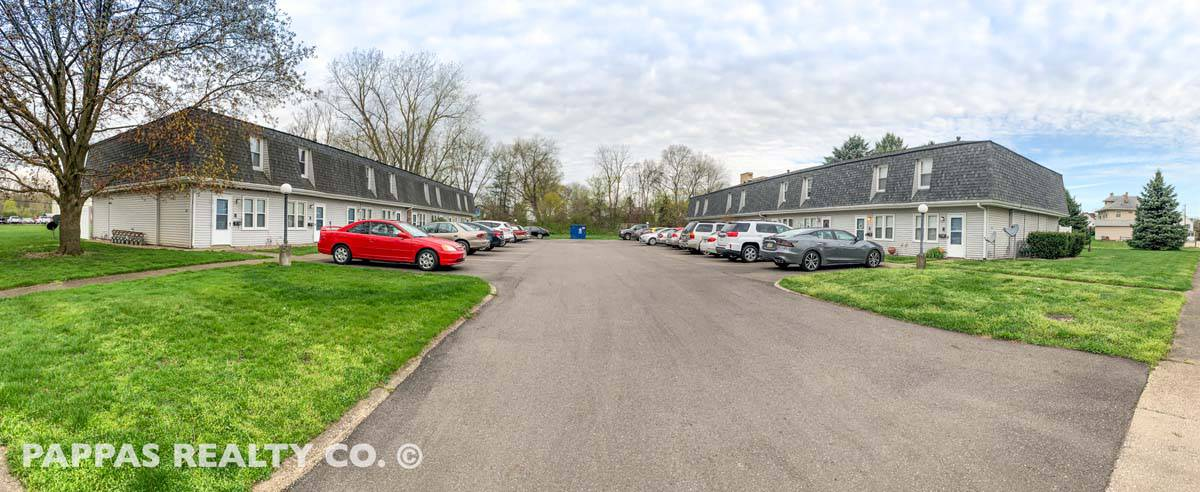 Multifamily For Sale Greater Akron - Contact Pappas Realty Co - 16 Unit Townhouse Apartments For Sale Barberton